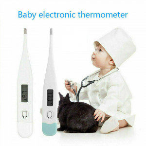 Electric Thermometer Digital LCD Fahrenheit Celsius For Underarm Oral Ear Anus