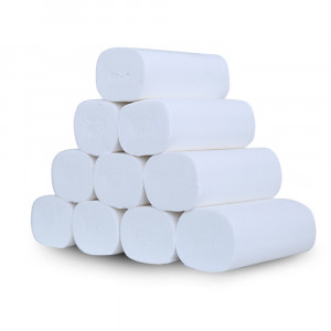 12/24 Rolls Household Tiolet Paper For Bathroom 5 Plys Fast Shipping