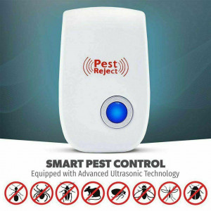 6 Pack Ultrasonic Electronic Pet Repeller Reject Anti Mosquito Pest Bug Mice Rat