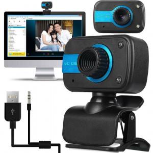 HD Webcam Web Camera Cam w/ Microphone,Video Call,Record For PC Laptop Desktop