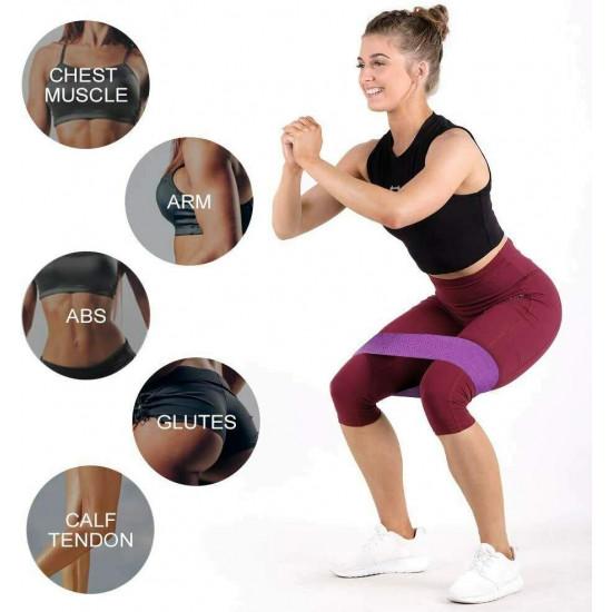 3Pcs/Set Yoga Tension Belt Elastic Bands for Fitness Gum Resistance Bands Yoga Workout Sport Elastic Bands Rubber Training Exercise Equipments