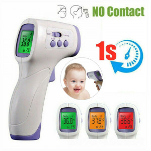 Infrared Forehead Thermometer Gun Non-touch Temperature Meter For Baby Adult