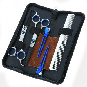 """Professional Barber Hairdressing Scissors Hair Cutting Thinning Shears Set 6"""" US"""