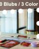 Hollywood Style Makeup Mirror Vanity LED Light Bulbs Lamp Kit 3 Levels Brightness Adjustable Light Make Up Mirrors Cosmetic Lights